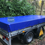 Lm/Lt standard trailer cover in blue