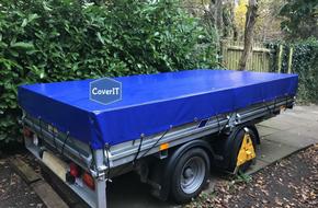 Lm/Lt standard trailer cover in blue