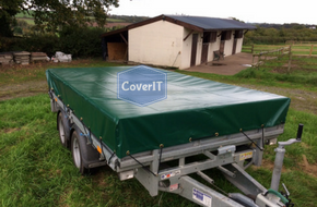 LM125 standard trailer cover in green