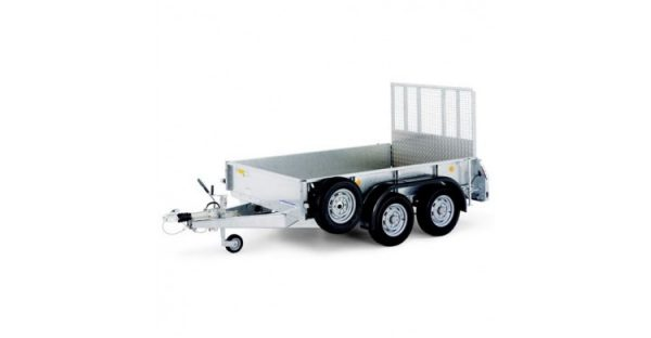GD85 standard trailer with a ramp tailgate