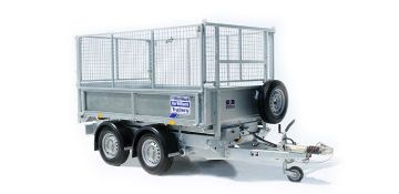 Ifor Williams TT2515 with mesh sides and ladder rack