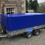 Ifor Williams LM126 trailer covers