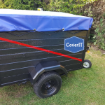 Custom made trailer cover