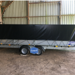 Ifor Williams LM166 trailer covers
