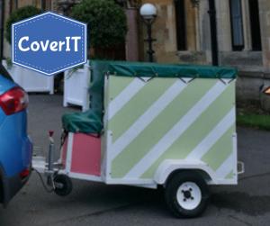 Granny Smiths Ice cream-trailer cover