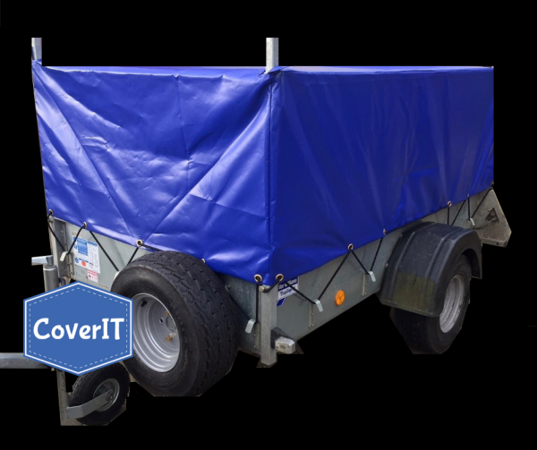 Ifor Williams P6e mesh side cover