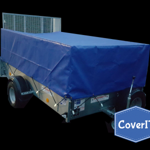 Ifor Williams P8e mesh side cover for extended ramp