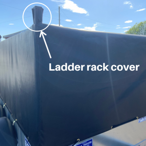 Ladder rack cover