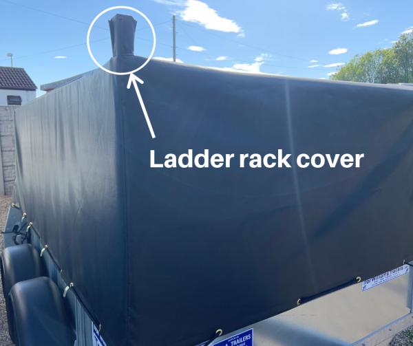 Ladder rack cover
